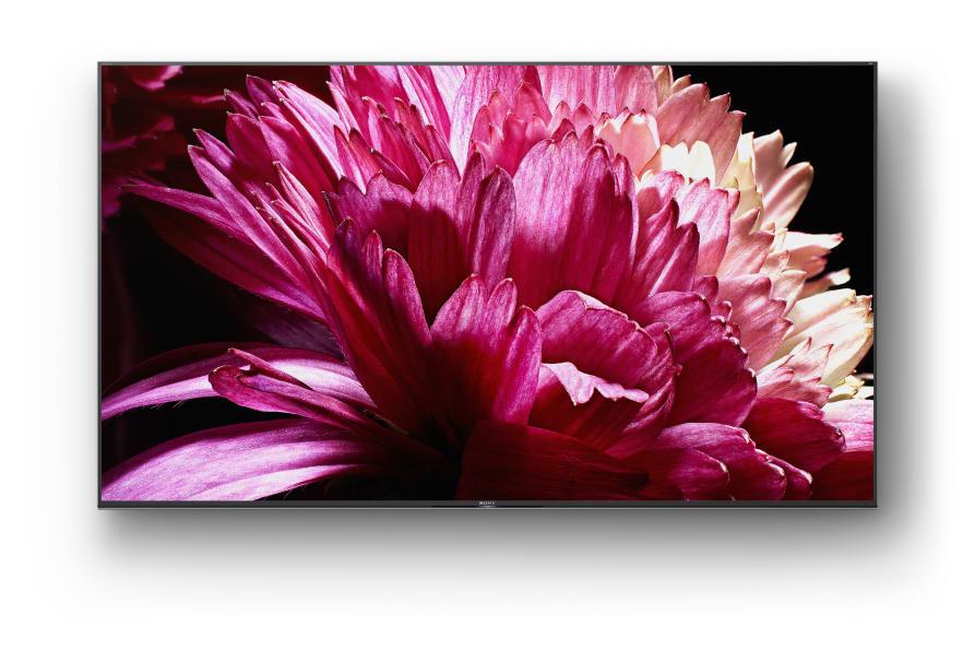 I tv full array 4k hdr serie xg95 di sony tra i modelli di punta