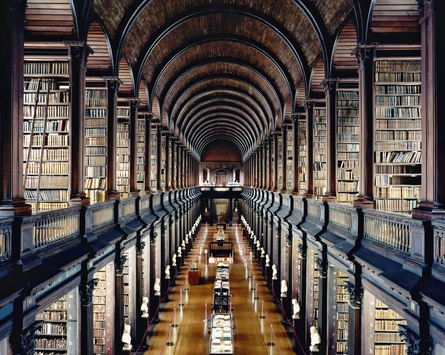 Trinity College Library Dublin I 2004 Copyright Candida