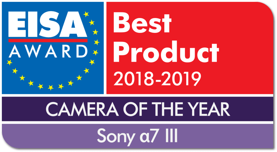 EISA Award Logo Sony a7 III dropshadow - Sony UK
