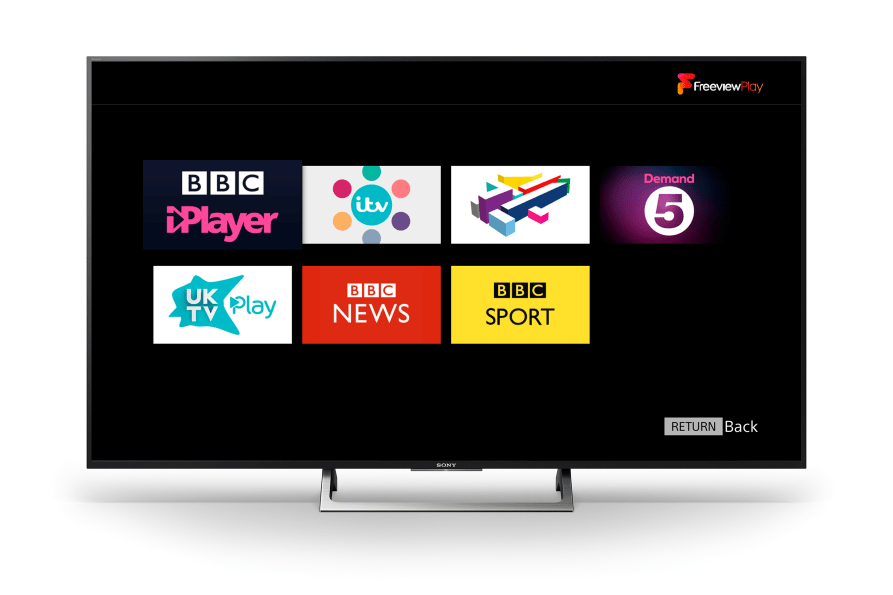 Freeview Play launches on Sony BRAVIA Televisions - Sony UK