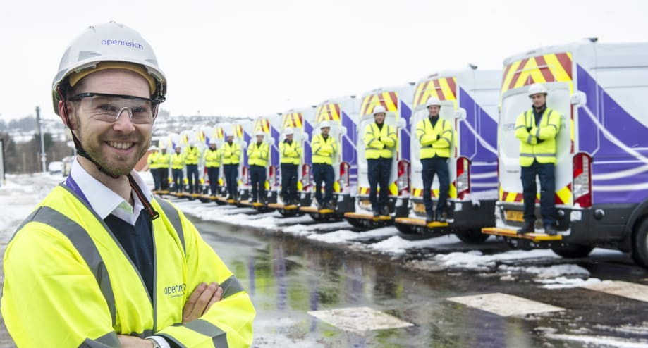 400 new trainee engineers for scotland in openreach s biggest ever