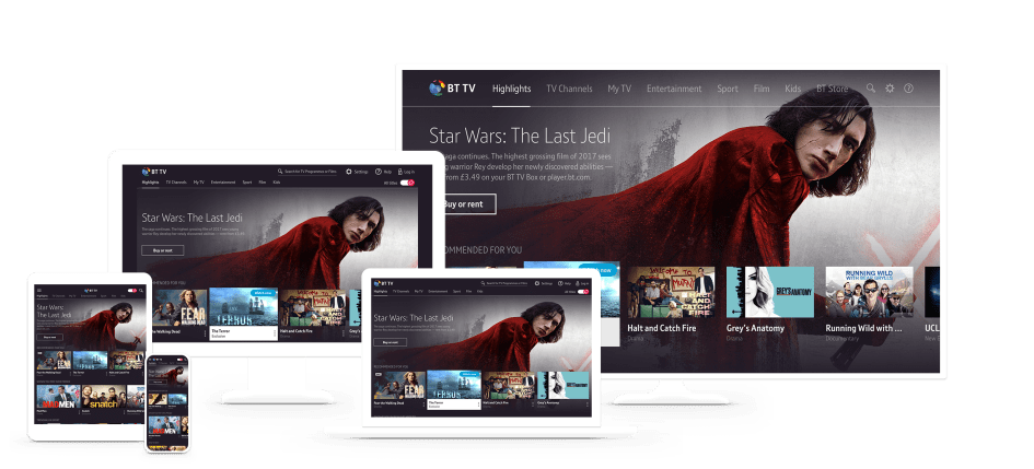 New enhanced BT TV app allows customers to download and
