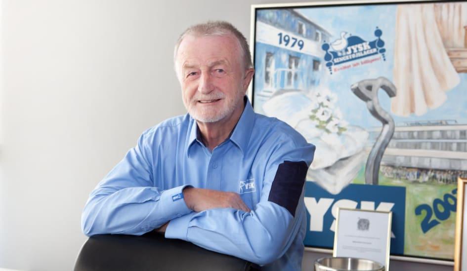 jysk fyller år Lars Larsen fyller 70 år men saktar inte ner   JYSK Sverige jysk fyller år