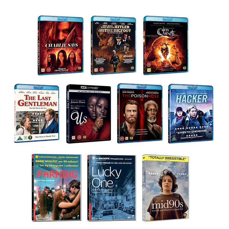 New Titles In August From Universal Sony Pictures Home Entertainment Universal Sony Pictures Nordic Ab