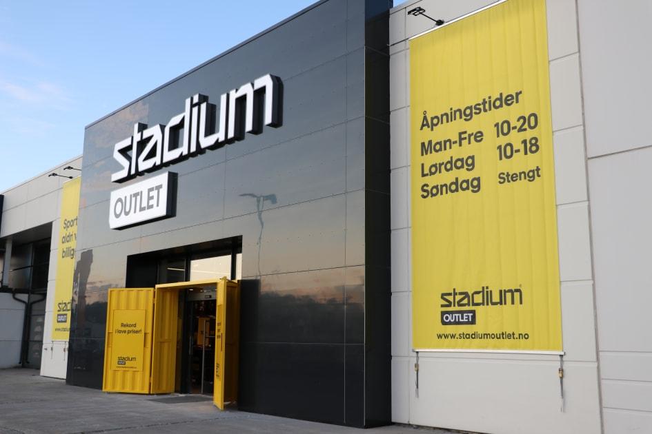 Åpningsfest för Stadium Outlet i Norge Stadium