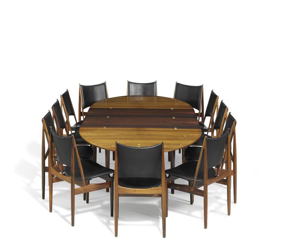 Finn Juhl S Dining Room Set Sold For Over A Million Danish