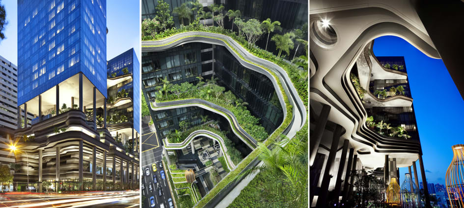 5 Most Coolest Buildings in Singapore