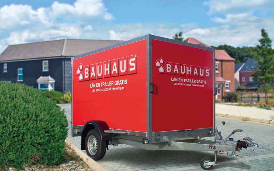 Dejlig BAUHAUS går i krig på markedet for trailerudlejning - Bauhaus BZ-58
