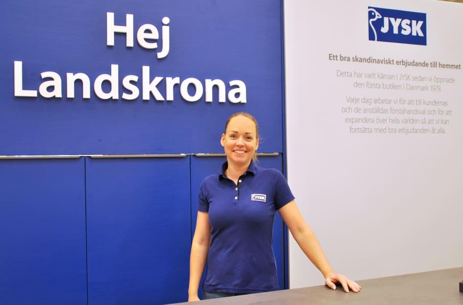 jysk fyller år JYSK i Landskrona flyttar till nya handelsområdet   JYSK Sverige jysk fyller år
