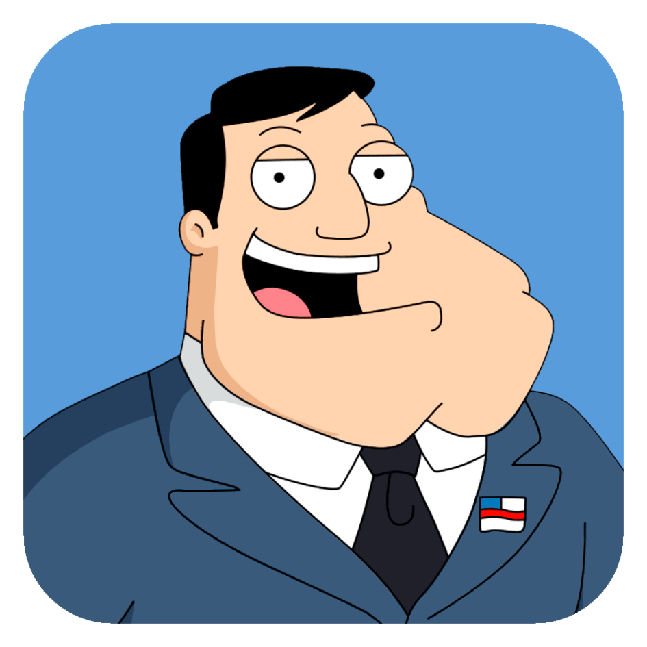 American Dad american dad mobile app icon - bastion