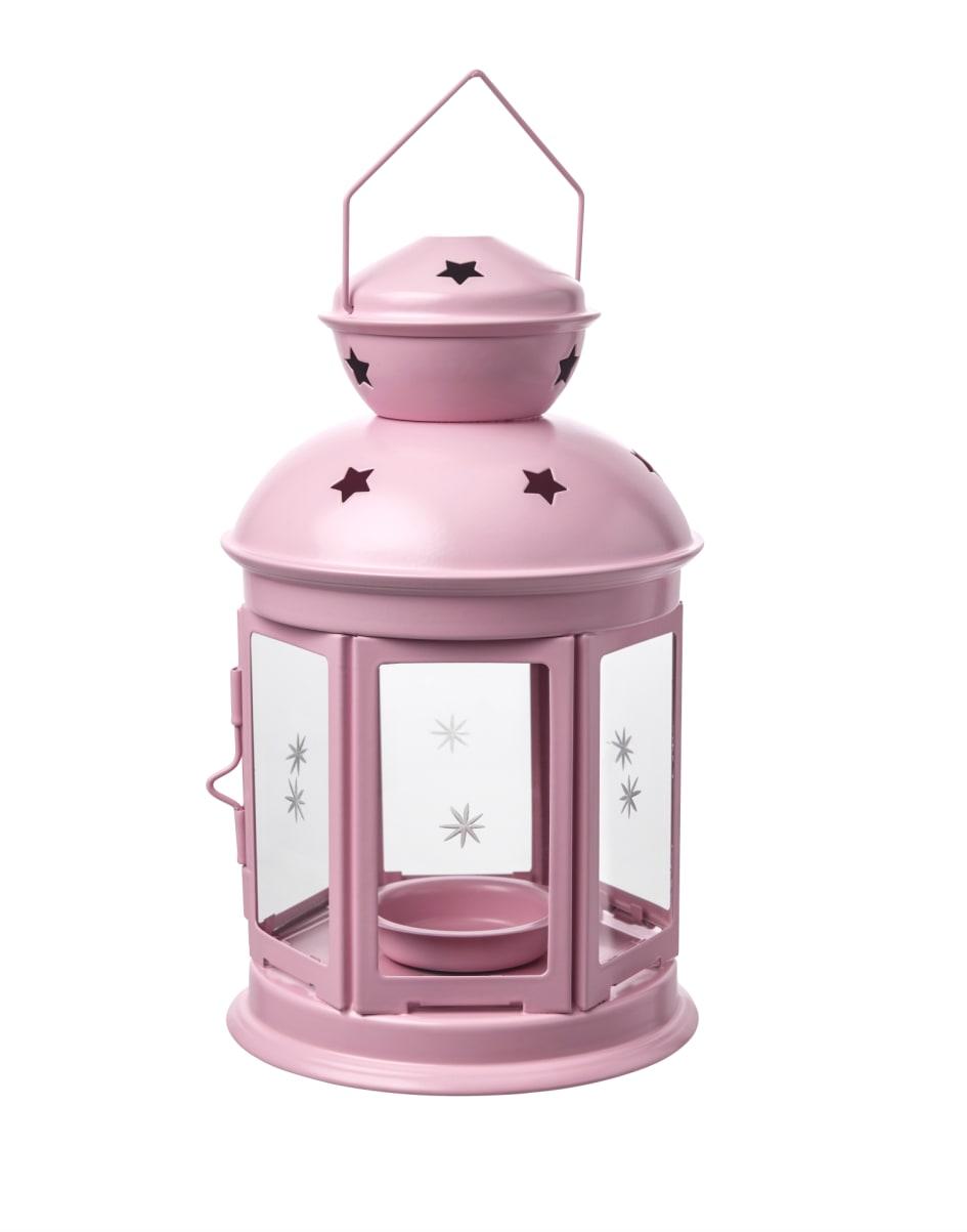Højmoderne ROTERA lanterne til fyrfadslys, indendørs/udendørs 25.- - IKEA XN-17