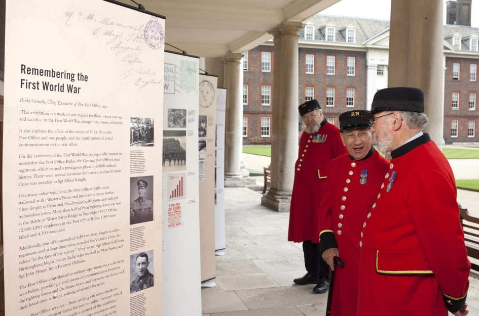 Post Office Commemorates First World War With Nationwide Touring