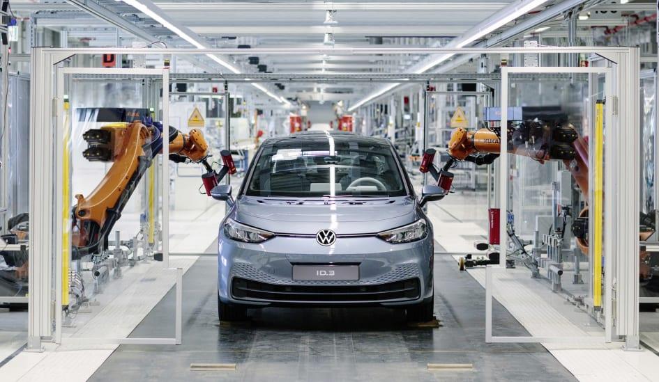 Produktionsstart för Volkswagens nya elbil ID.3 – systemskifte till... -  Volkswagen Personbilar Sverige AB