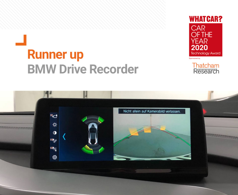 what car technology award runner up bmw drive recorder thatcham research bmw drive recorder thatcham research