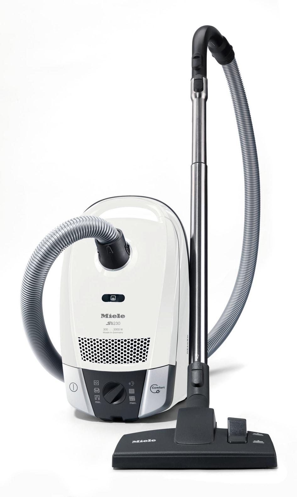 Omtalade Miele S6: Nya kompakta, energieffektiva och tysta dammsugare - Miele SV-99