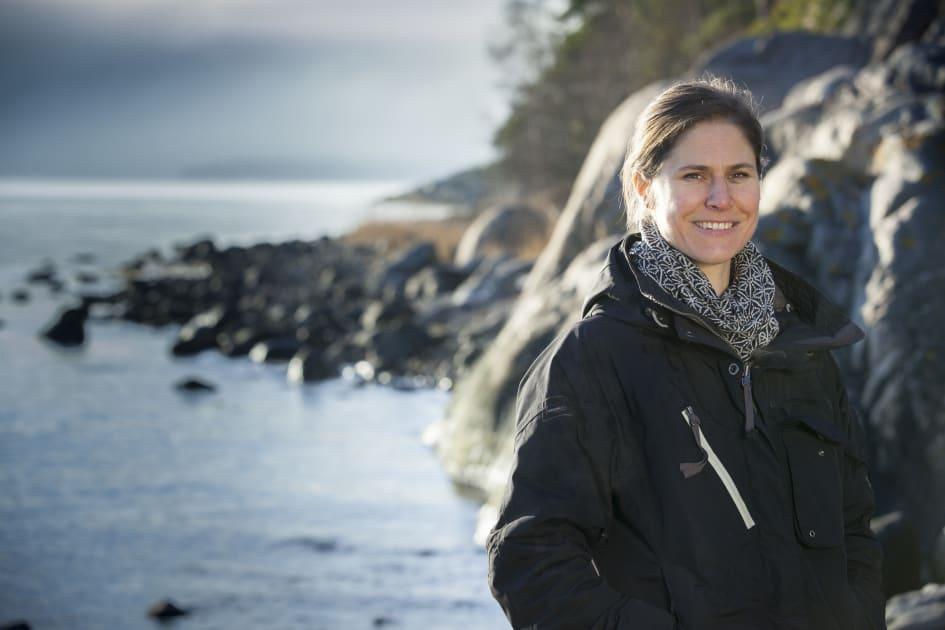 Naturskyddsforeningens Ordforande Johanna Sandahl Besoker Alingsas Kommun