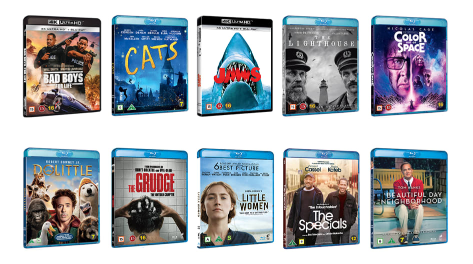 New Titles In June From Universal Sony Pictures Home Entertainment Universal Sony Pictures Nordic Ab