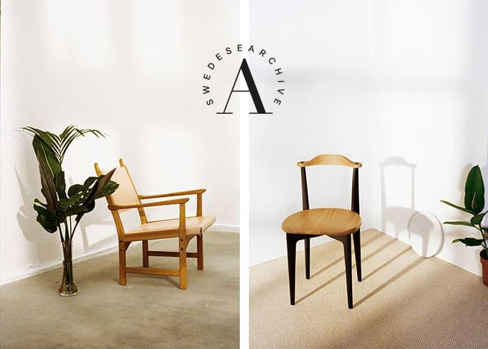 Toppen Swedese återlanserar tre klassiska stolar - Swedese Möbler AB EL-65