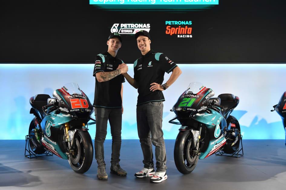 Petronas Yamaha Sepang Racing Team Unveils New Look For Historic Yamaha Motor Co Ltd