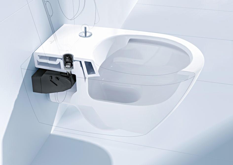 Bevorzugt Villeroy & Boch macht die WC-Montage noch flexibler – SupraFix AA29
