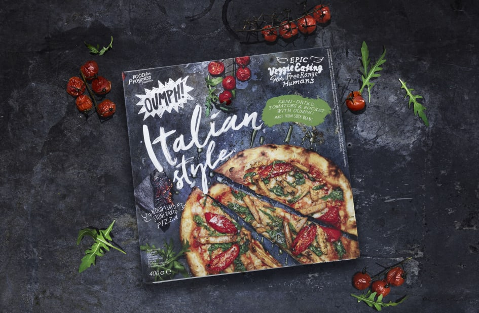 Oumph Plant Based Pizza Finally In The Uk Food For Progress