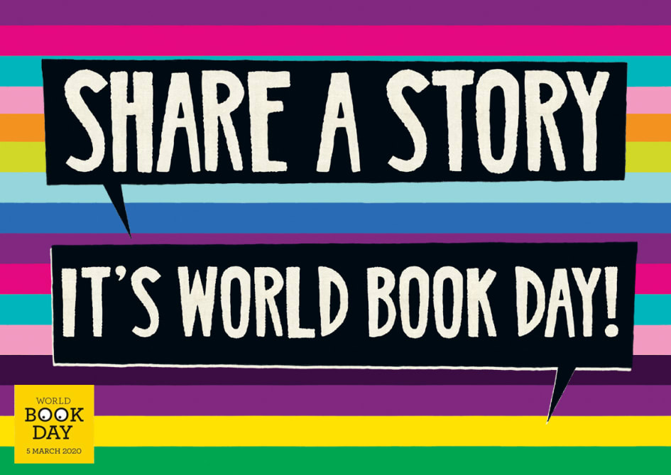 Image result for share a story world book day 2020