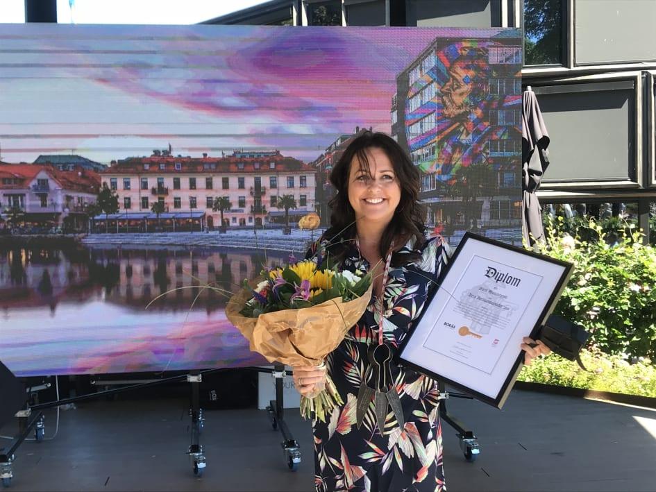 högtidstal födelsedag Sarit Monastyrski är årets Boråsambassadör 2018   Borås TME högtidstal födelsedag