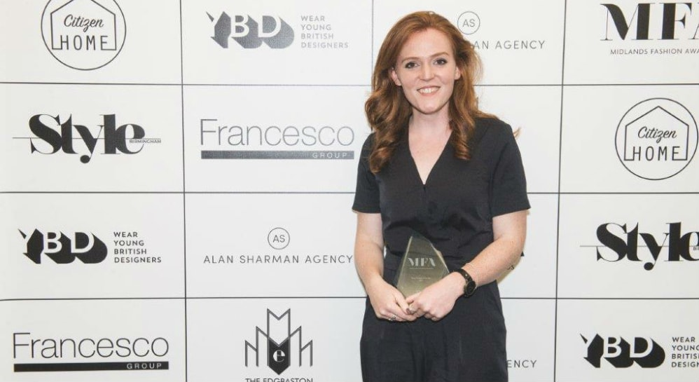 Top Title For Northumbria Graduate At Midlands Fashion Design Awards Northumbria University Newcastle