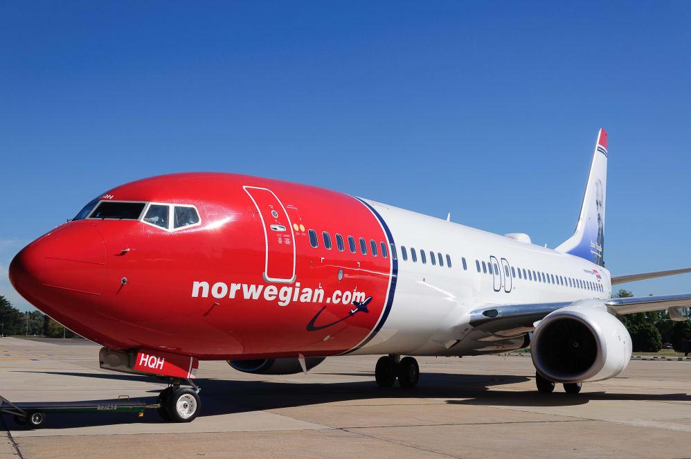 Resultado de imagen para Norwegian Air Argentina Boeing 737