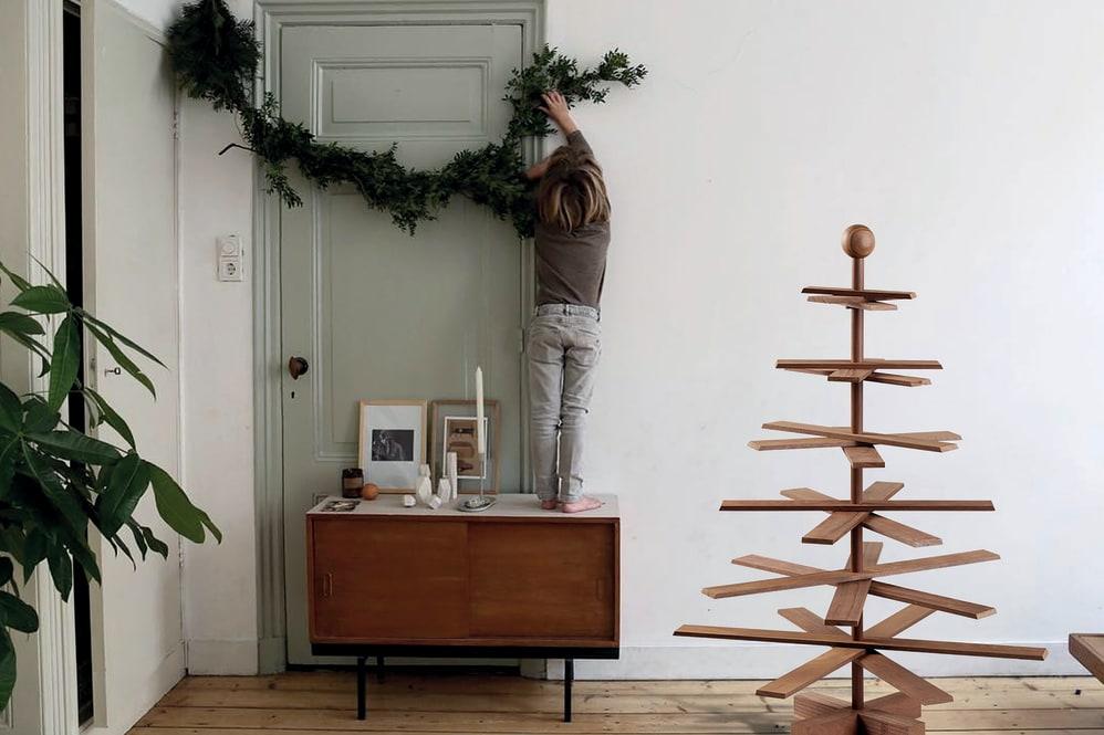 Weihnachtsbaum Nadeln.Habitree Der Etwas Andere Baum Bietet Weihnachten Mit Style Und