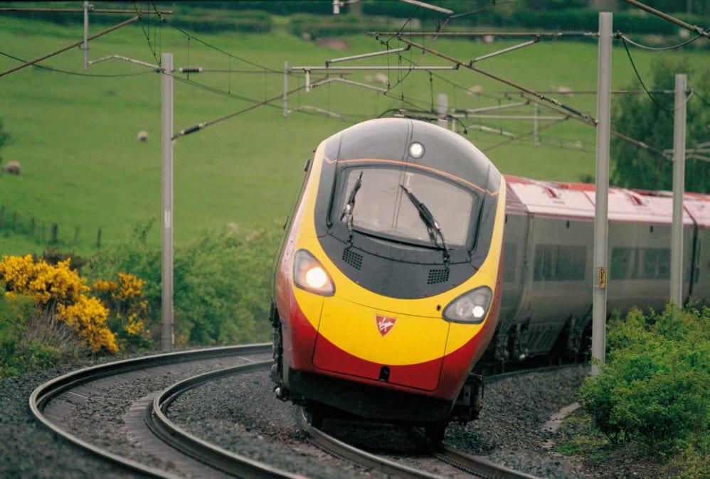 london fares Virgin train to