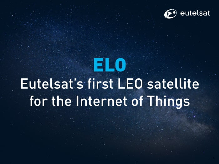 Eutelsat commissions ELO, its first low earth orbit satellite