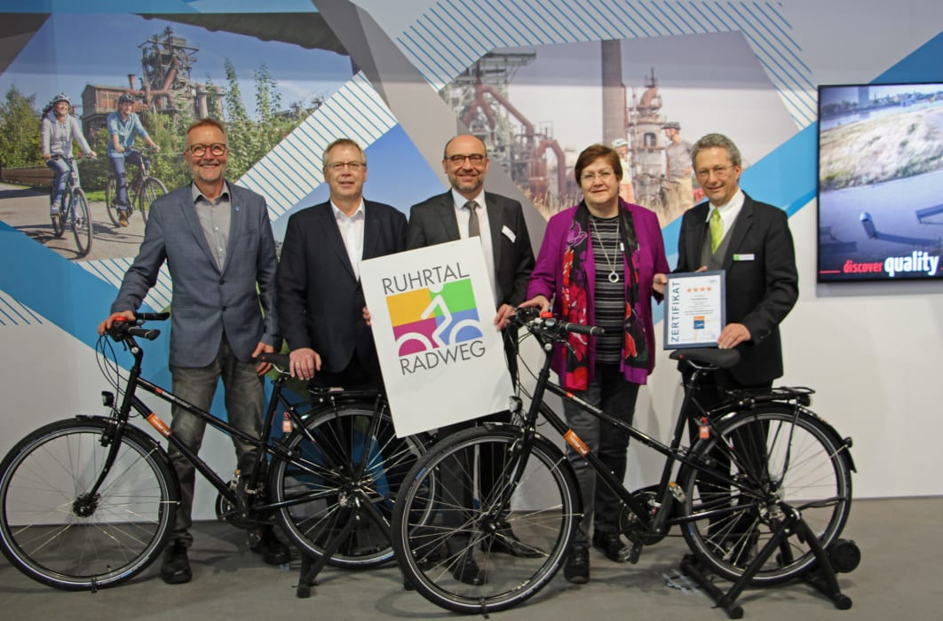 ADFC-Radreiseanalyse 2019: radrevier.ruhr und RuhrtalRadweg erneut mit top Platzierungen