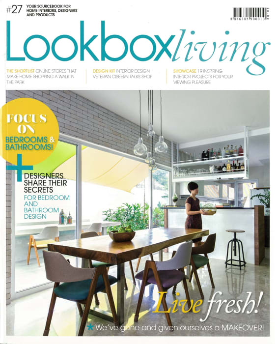 Design Interior Rumah Type 27  herf by evorich featured on the new lookbox living magazine