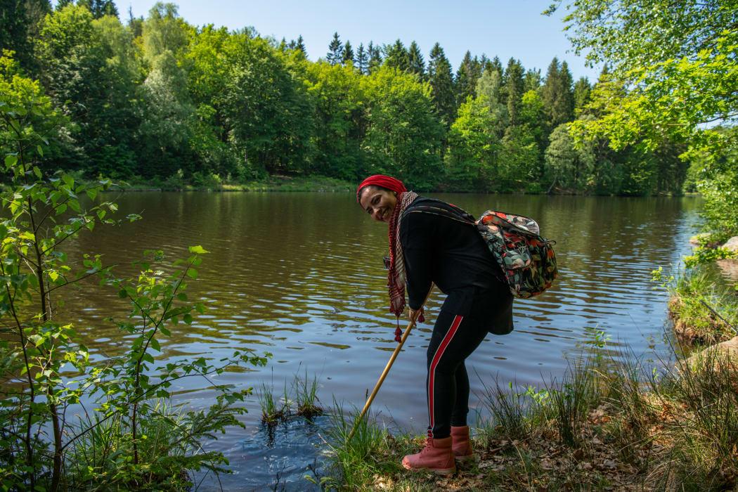 Vild natur fick utlandsfödda att känna sig hemma i Sverige