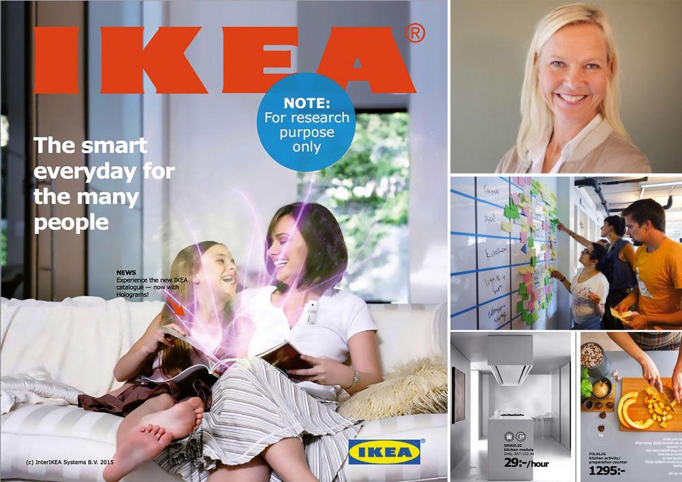 Vaken@Ikea Ikeakatalogen som metod i visionsarbetet