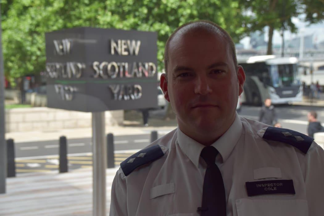 Inspector Jim Cole Metropolitan Police