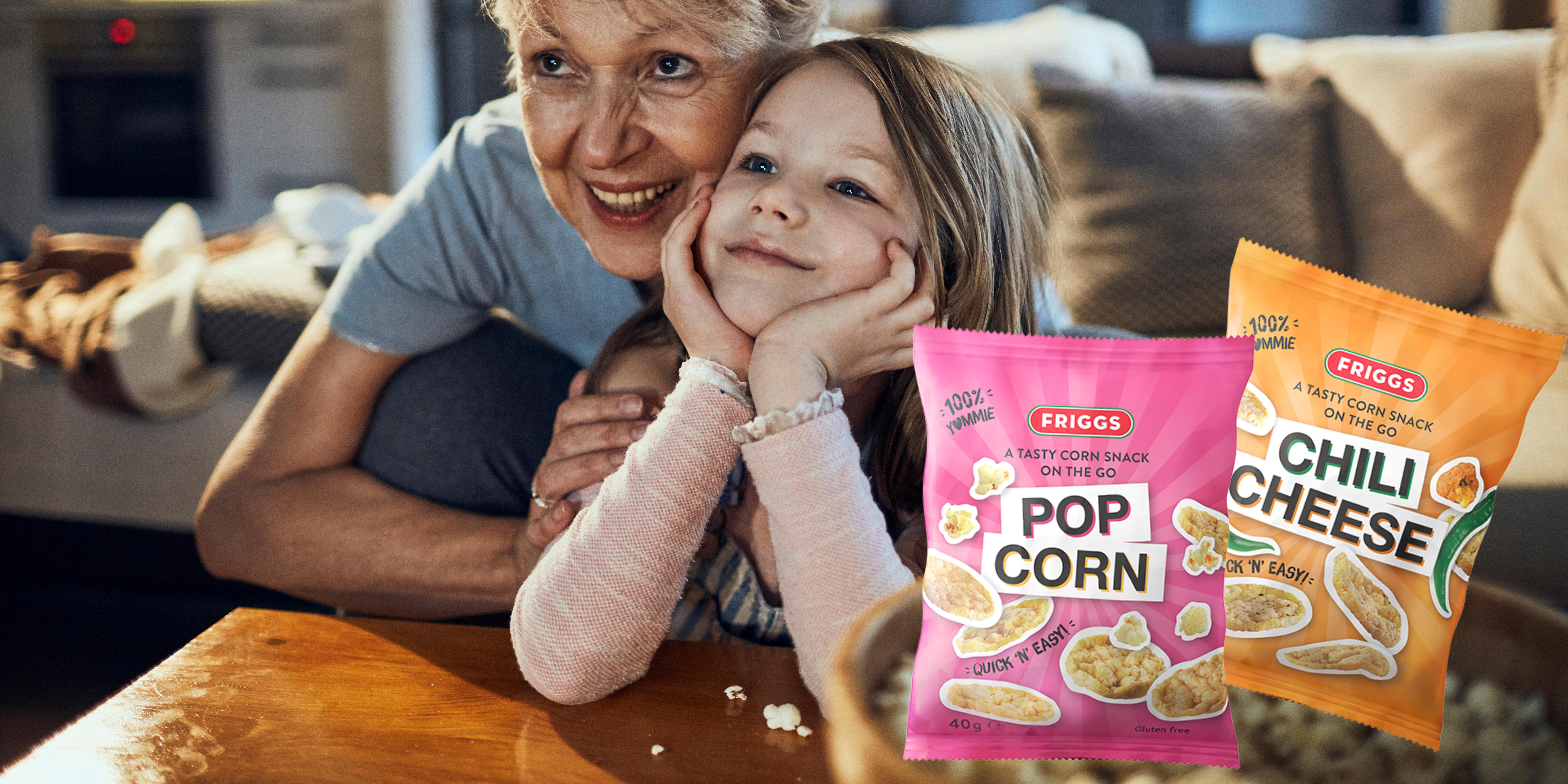 Ihastuttavat Friggs maissisnack uutuudet - terveellisempään herkutteluun!