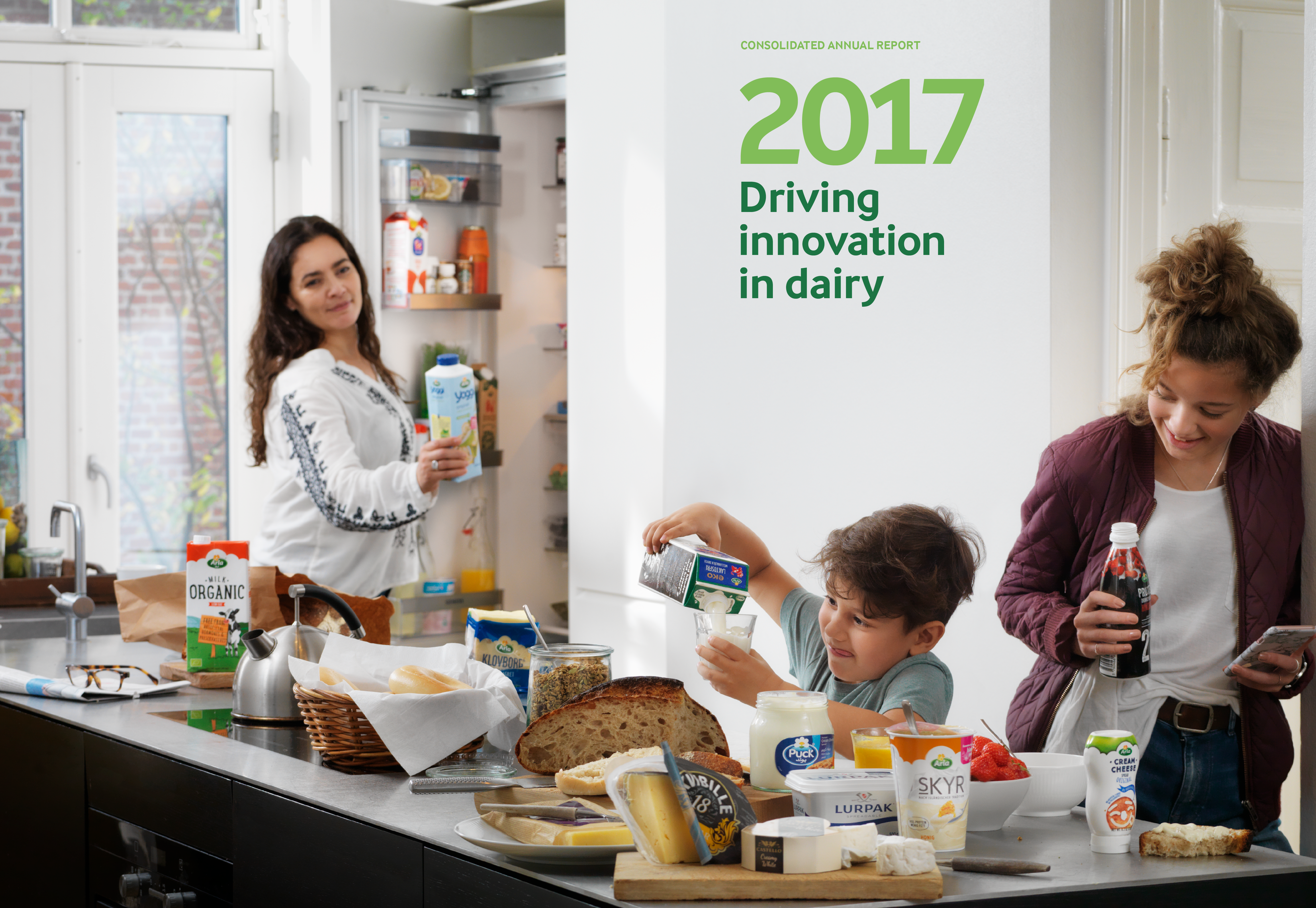 ​Arla reports on its annual results and its social responsibility