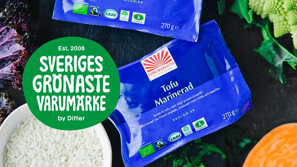 Kung Markatta är Sveriges grönaste varumärke!