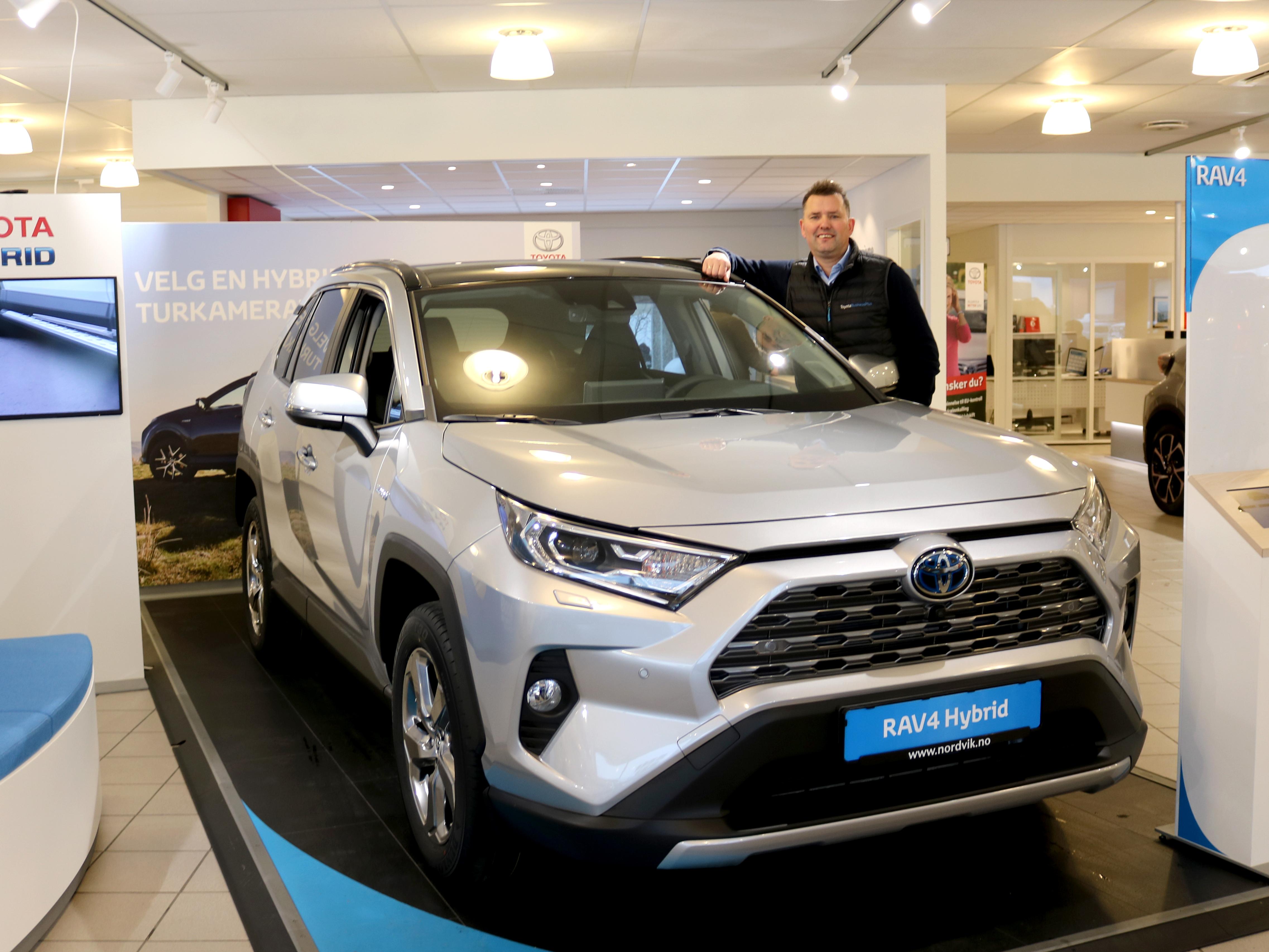 Toyota ble salgsvinner i Mosjøen