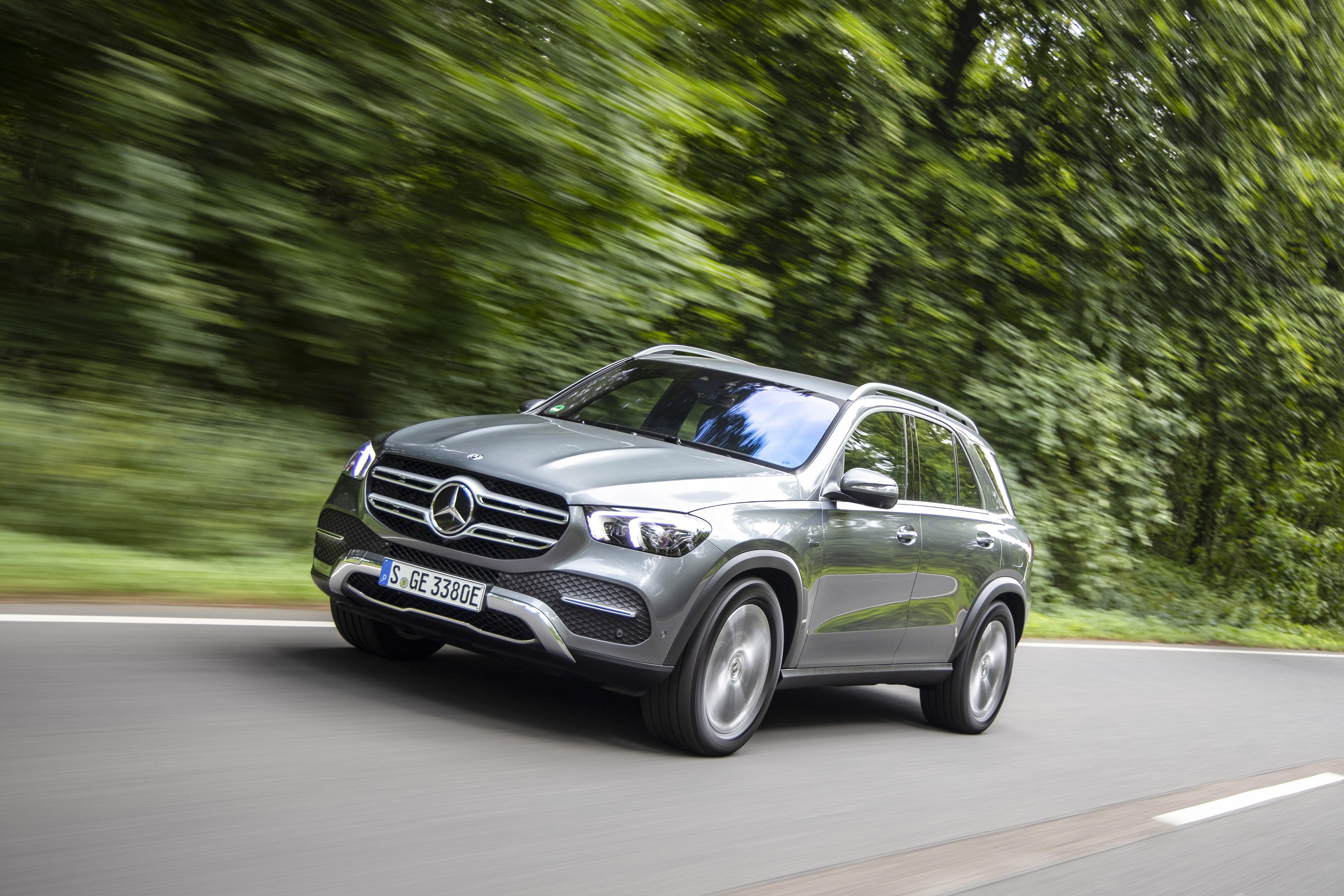 Nu kommer Mercedes-Benz GLE som laddhybrid – med över 9 mil räckvidd.