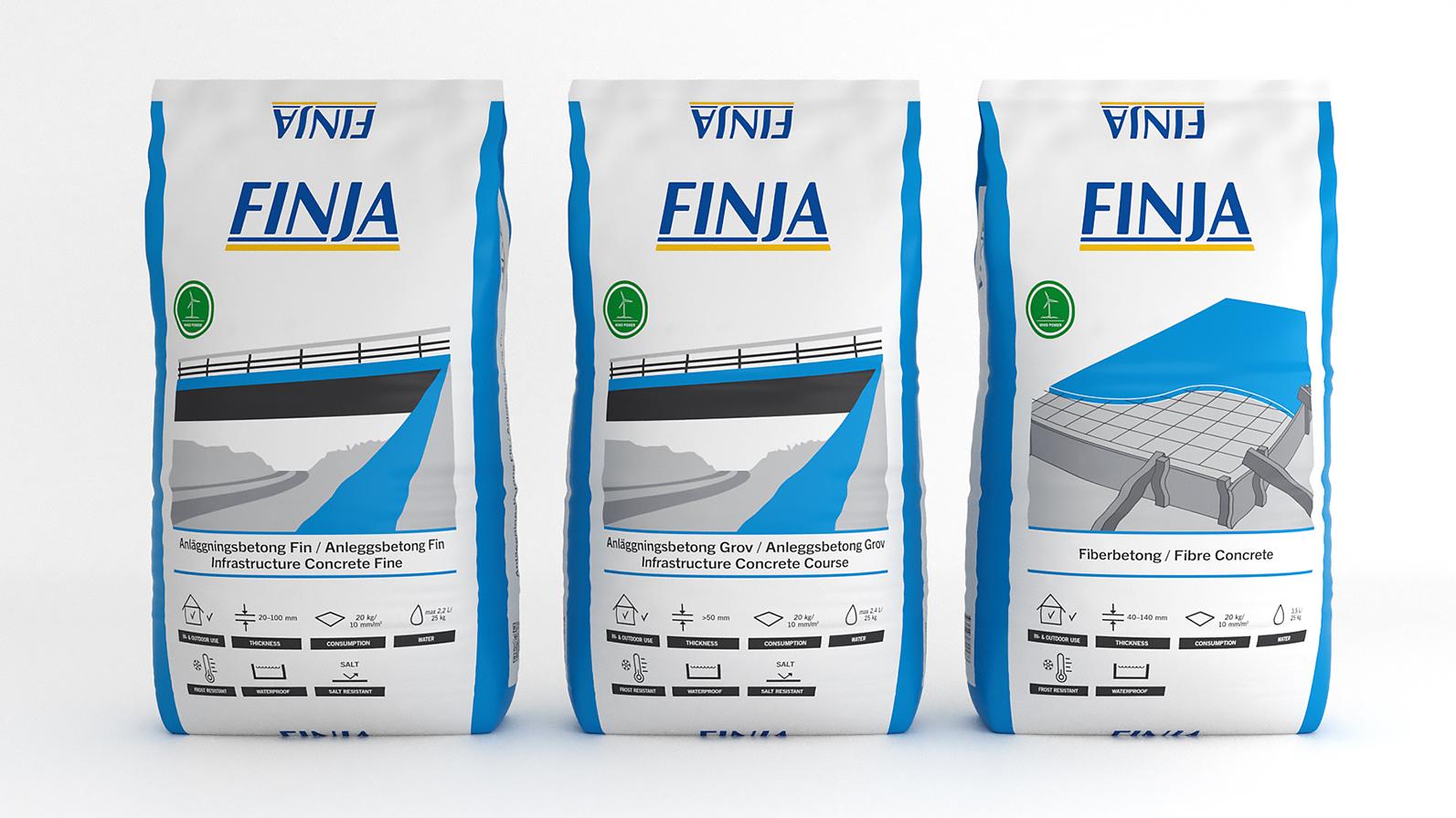 Nya gjutprodukter från Finja Betong