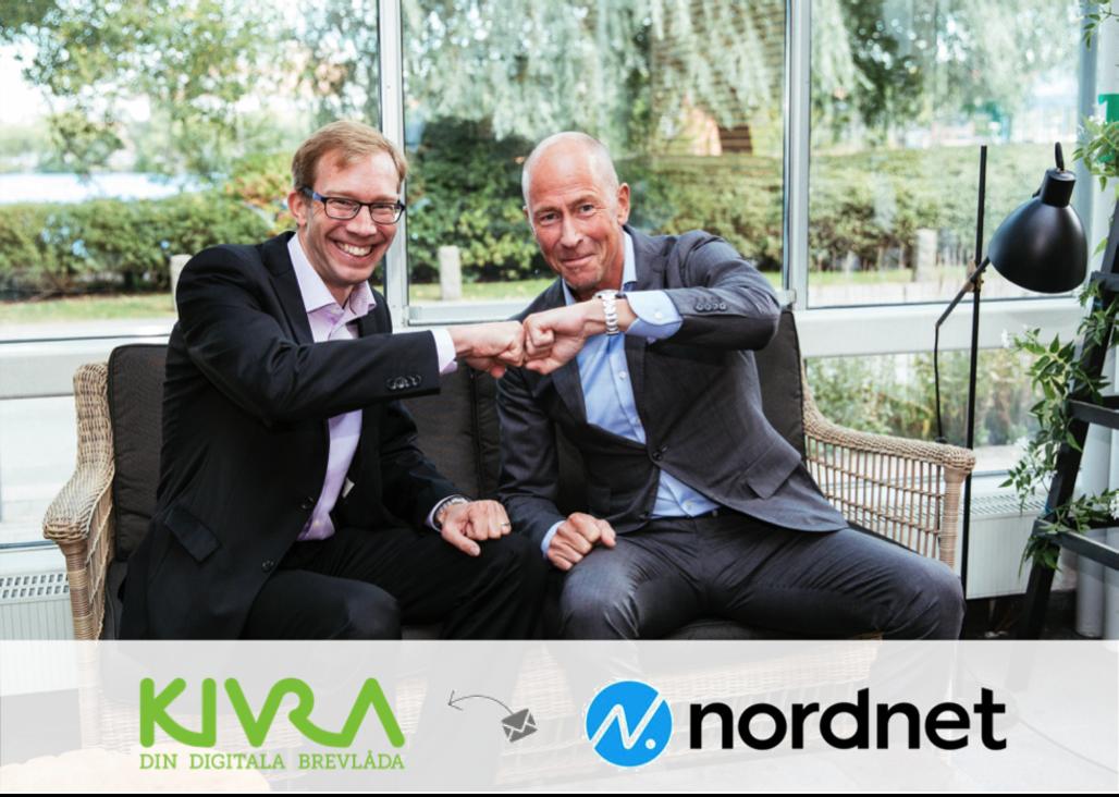 Nordnet inleder samarbete med Kivra 1