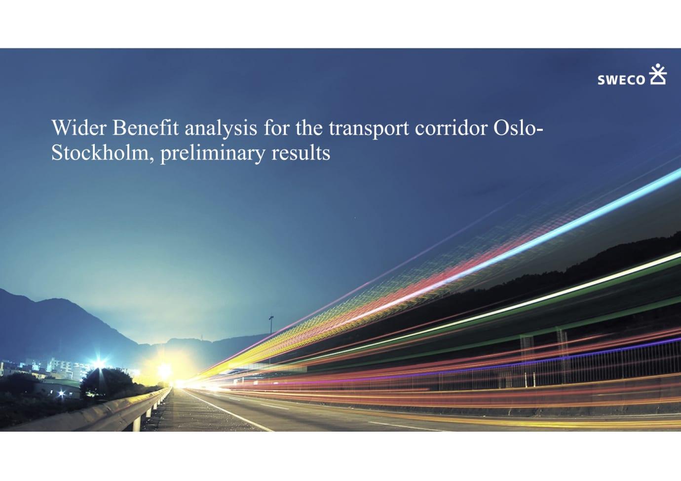 Wider-benefit-analysis presentation in English