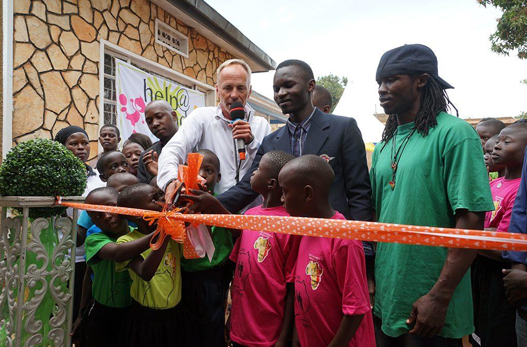 Kristian Rankloo, Help@Hand, inviger barnhem i Uganda