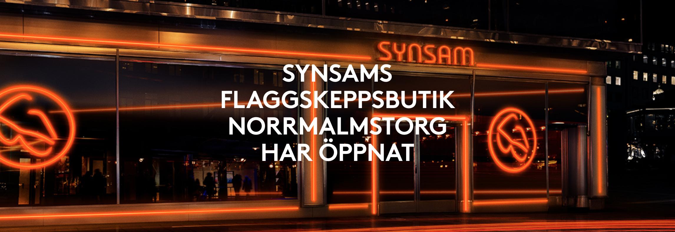 1041d63a419 På en yta av 700 kvm i två plan, tillgodoser Synsam kundens samtliga behov  av ...