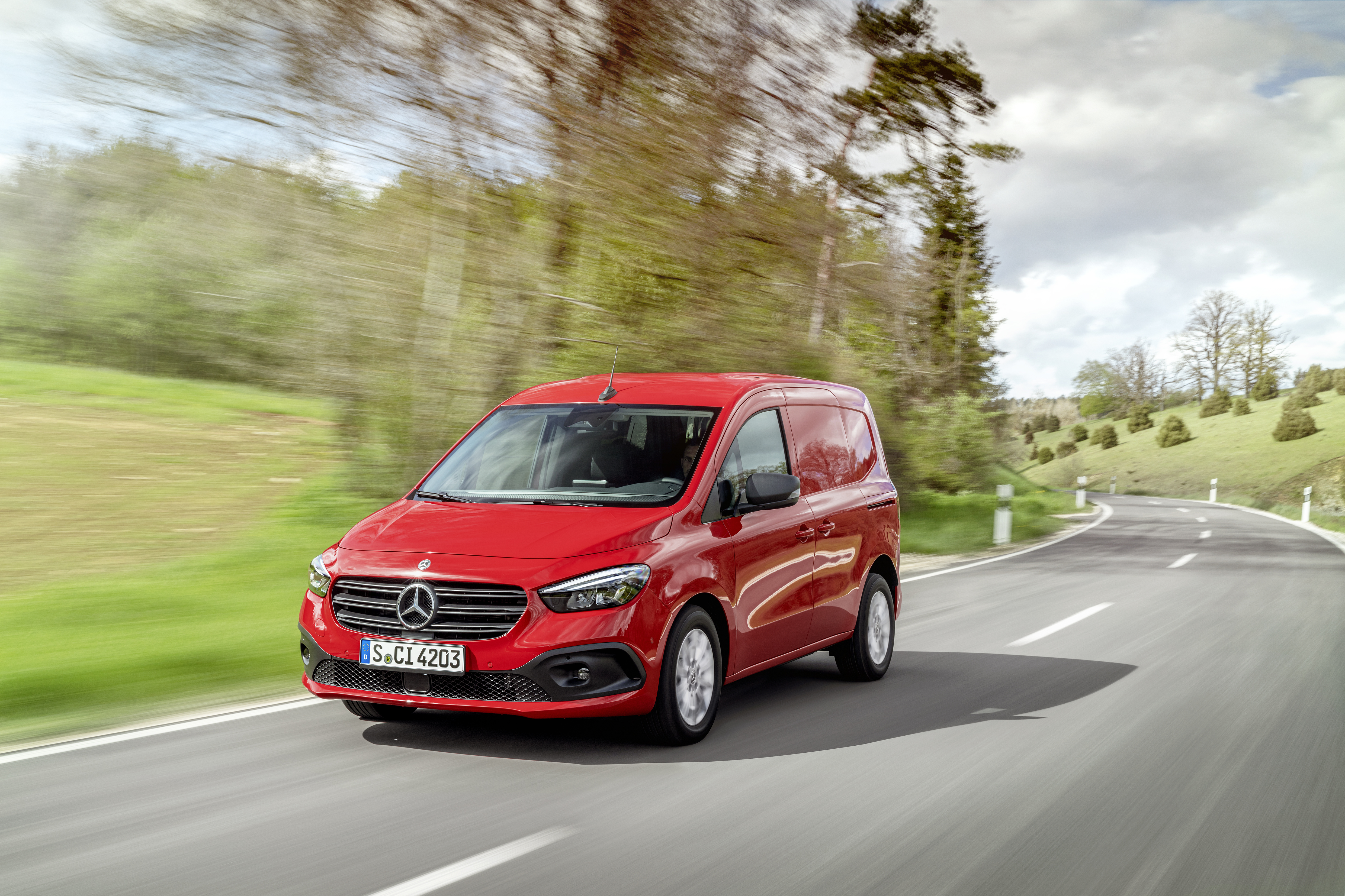 Svenska priser för nya Mercedes-Benz Citan. Godkänd för HVO