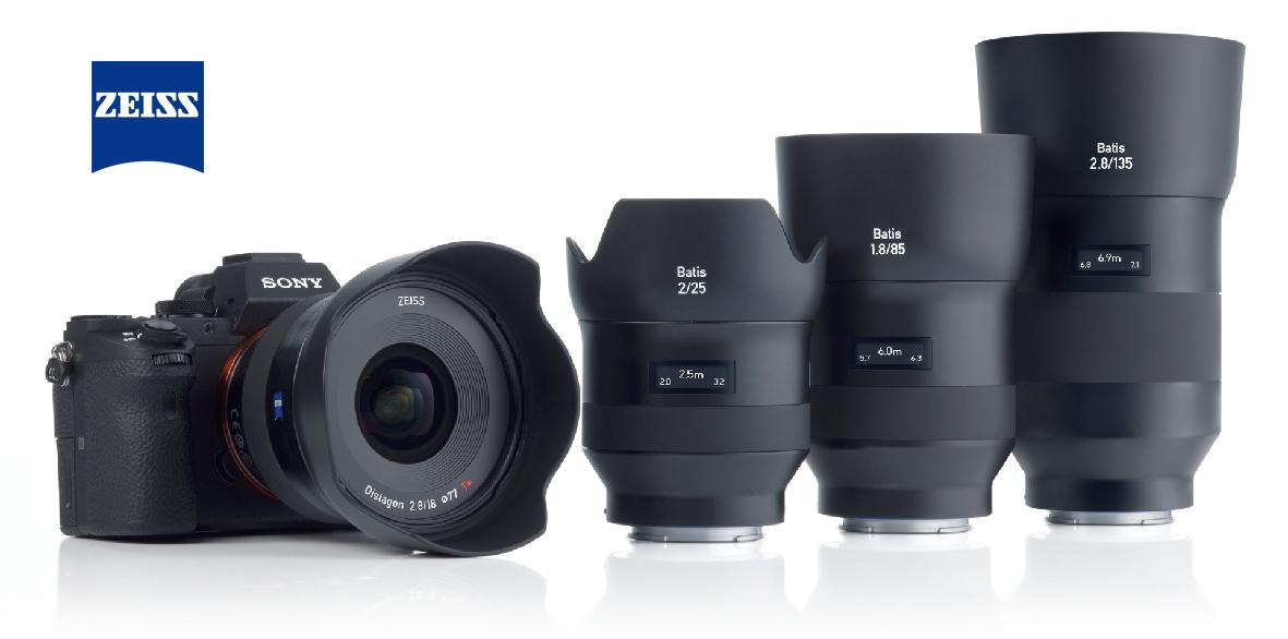Compact Portrait Tele Lens for Sony E-Mount with Autofocus