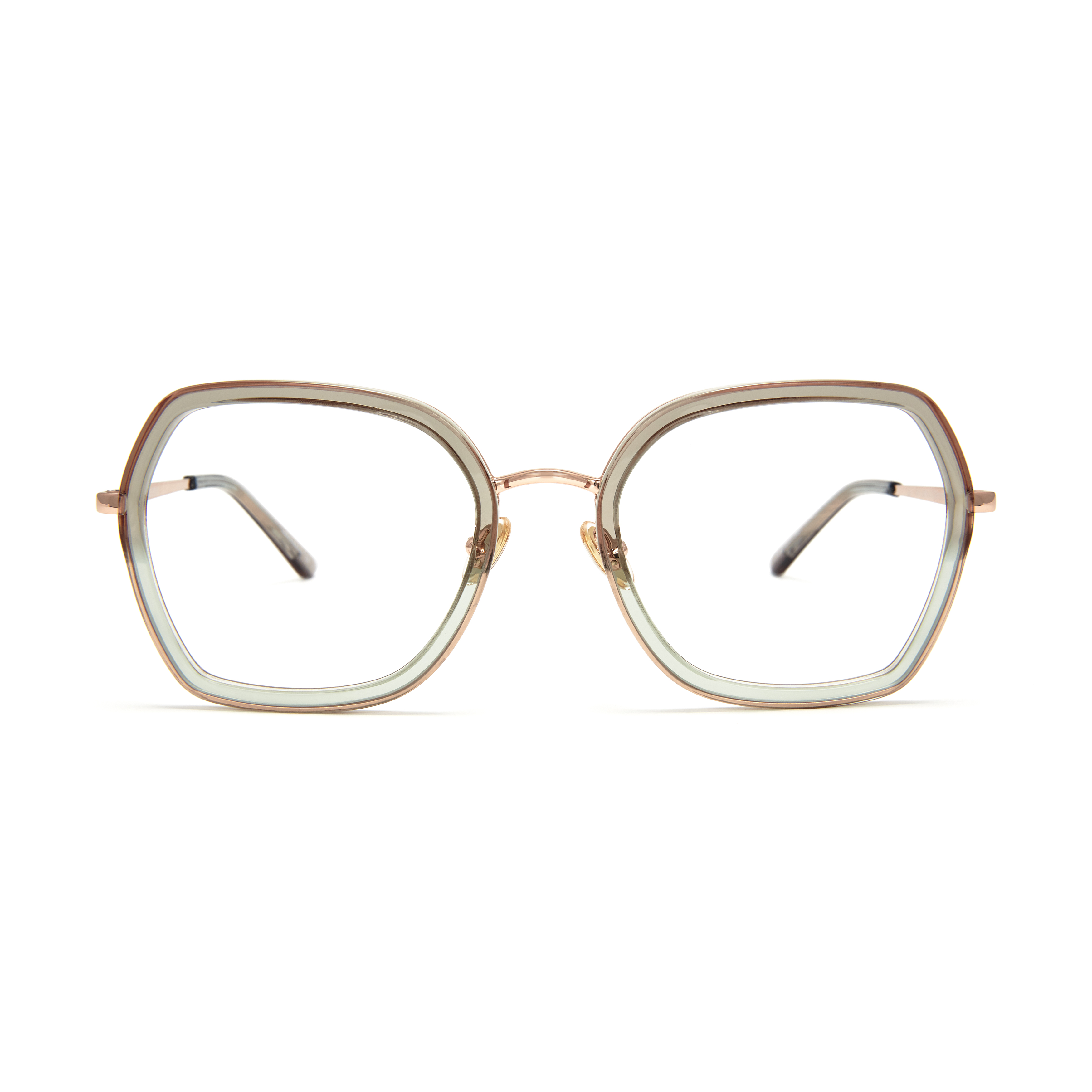 Isot pyöreät silmälasit
